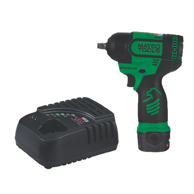 "12V CORDLESS INFINIUM™ BRUSHLESS HIGH POWER 3/8"" IMPACT KIT -GREEN 
