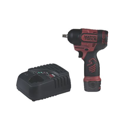 "12V CORDLESS INFINIUM™ BRUSHLESS HIGH POWER 3/8"" IMPACT KIT -BURGUNDY 