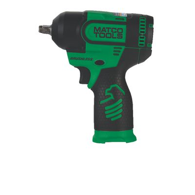 "12V CORDLESS INFINIUM™ BRUSHLESS HIGH POWER 3/8"" IMPACT - GREEN 