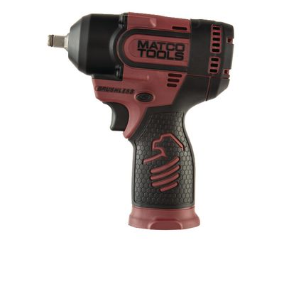 "12V CORDLESS INFINIUM™ BRUSHLESS HIGH POWER 3/8"" IMPACT - BURGUNDY 