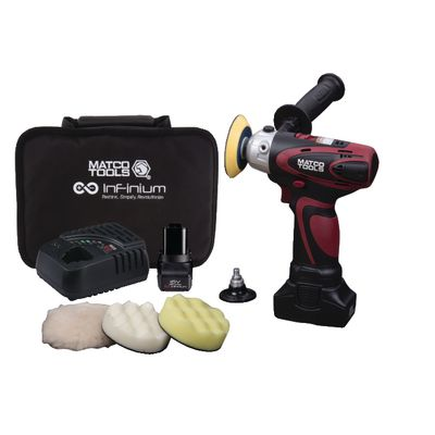 16V CORDLESS INFINIUM™ TWO SPEED POLISHER KIT  | Matco Tools