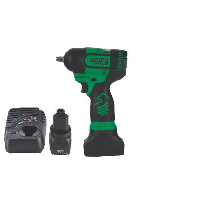 "16V CORDLESS INFINIUM™ 3/8"" DRIVE HIGH PERFORMANCE IMPACT WRENCH KIT - GREEN 
