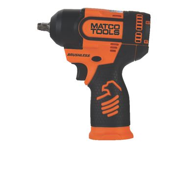 "16V CORDLESS INFINIUM™ 3/8"" DRIVE HIGH PERFORMANCE IMPACT WRENCH - ORANGE 