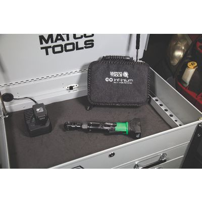"16V CORDLESS INFINIUM™ 3/8"" DRIVE HIGH SPEED RATCHET 2 BATTERY KIT - GREEN 