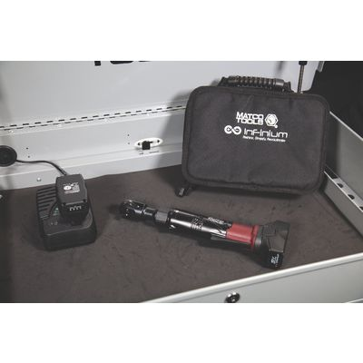 "16V CORDLESS INFINIUM™ 3/8"" DRIVE HIGH SPEED RATCHET 2 BATTERY KIT - BURGUNDY 