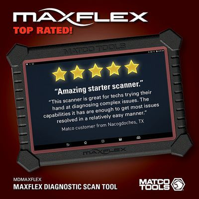 MAXIMUS FLEX DIAGNOSTIC SCAN TOOL | Matco Tools