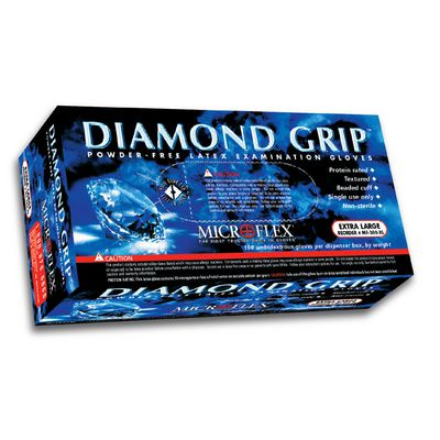 DIAMOND GRIP LATEX GLOVES - MEDIUM | Matco Tools