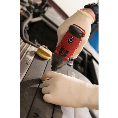 DIAMOND GRIP LATEX GLOVES - SMALL | Matco Tools