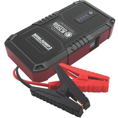 MINIJUMP3 PORTABLE POWER SOURCE AND JUMP STARTER WITH WIRELESS CHARGING | Matco Tools
