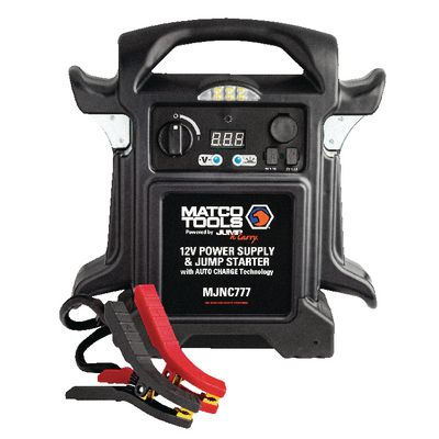 12V POWER SUPPLY/JUMP STARTER | Matco Tools
