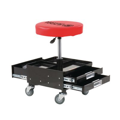 ADJUSTABLE MECHANIC'S STOOL WITH DRAWERS | Matco Tools