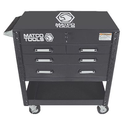 4 DRAWER SERVICE CART- STEALTH MSC4SB | Matco Tools