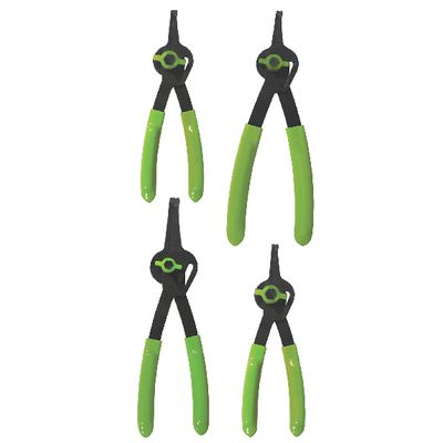 4 PIECE CONVERTIBLE FIXED TIP SNAP RING PLIERS SET - 45° | Matco Tools