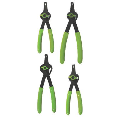 4 PIECE CONVERTIBLE FIXED TIP SNAP RING PLIERS SET - 90° | Matco Tools