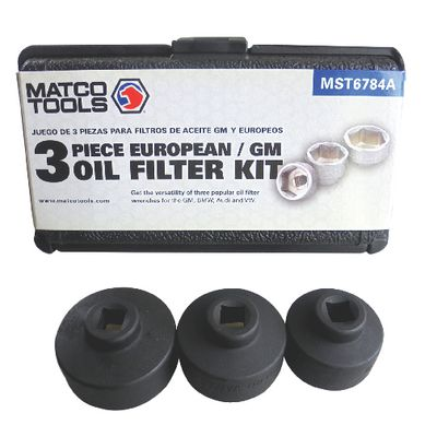 3 PIECE EUROPEAN/GM OIL SOCKET SET | Matco Tools