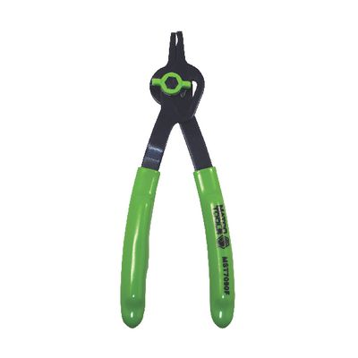 ".070"" CONVERTIBLE FIXED TIP FLUORESCENT SNAP RING PLIERS - 90° 