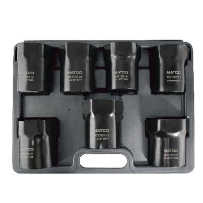 7 PIECE WHEEL BEARING LOCKNUT SOCKET SET | Matco Tools