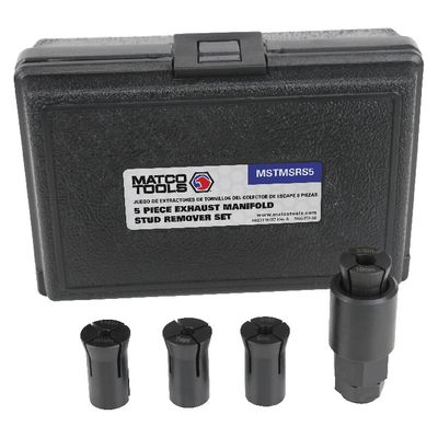 5 PIECE EXHAUST MANIFOLD STUD REMOVER SET | Matco Tools