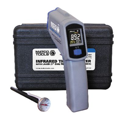 INFRARED THERMOMETER WITH COLOR SCREEN | Matco Tools