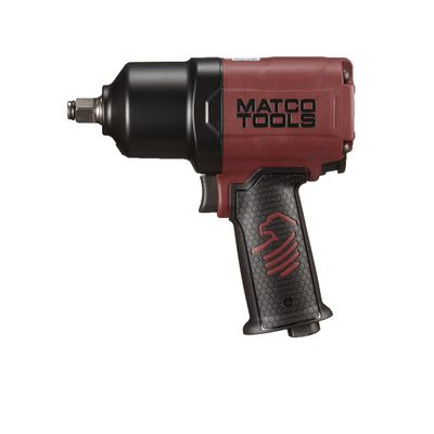 "1/2"" COMPOSITE IMPACT WRENCH - BURGUNDY 