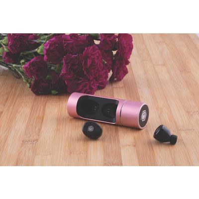 BLUSH WIRELESS BLUETOOTH HEADPHONES- PINK/BLACK | Matco Tools