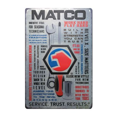 MATCO METAL SIGN | Matco Tools