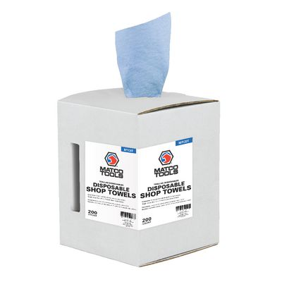 DISPOSABLE SHOP TOWELS - 200 COUNT  | Matco Tools