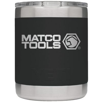 YETI® 10 OZ. LOWBALL BLACK | Matco Tools