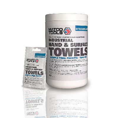 MATCO HAND AND SURFACE TOWEL SAMPLE PACKS | Matco Tools