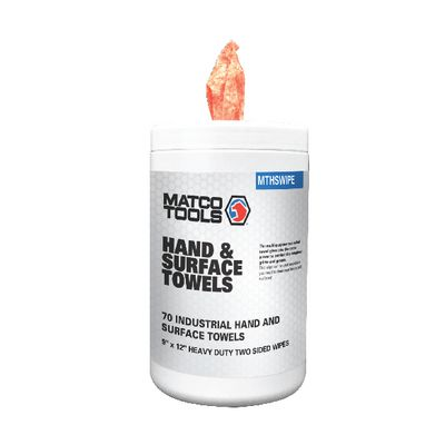 MATCO HAND AND SURFACE TOWELS - 70 COUNT | Matco Tools