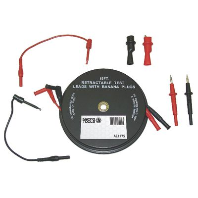 2 LEAD X 15' RETRACTABLE LEAD WITH ADAPTERS | Matco Tools