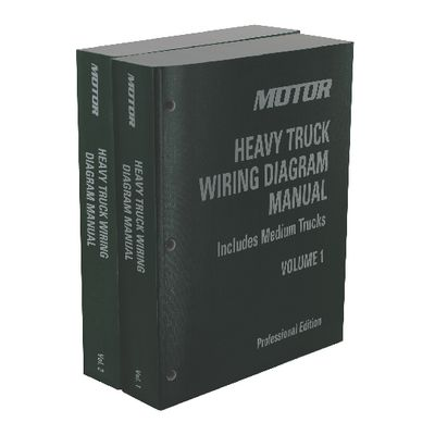 motor heavy truck wiring diagram manual  2 volume set 20092013