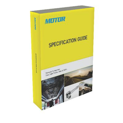MOTOR SPECIFICATION GUIDE | Matco Tools
