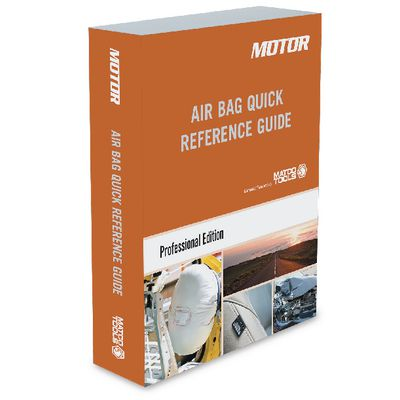 MOTOR AIR BAG QUICK REFERENCE GUIDE (2016-2020) | Matco Tools