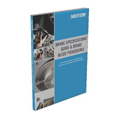 MOTOR BRAKE SPECIFICATION AND BRAKE BLEED GUIDE (1994-2019) | Matco Tools