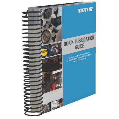 QUICK LUBRICATION GUIDE (2003-2020 DOMESTIC & IMPORTED) | Matco Tools