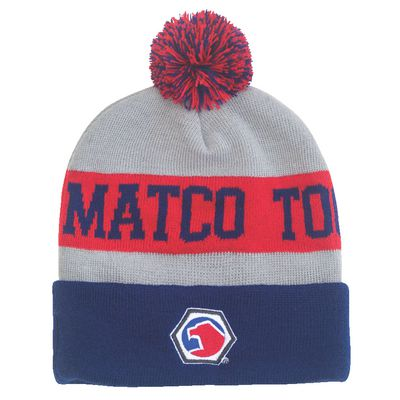 HEATHERED TASSEL BEANIE | Matco Tools