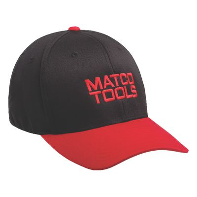 BLACK/RED FLEXFIT CAP - M/L | Matco Tools