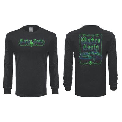 57 SKULL LONG SLEEVE T-SHIRT - M | Matco Tools