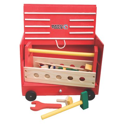 WOODEN TOOLBOX PLAY SET | Matco Tools