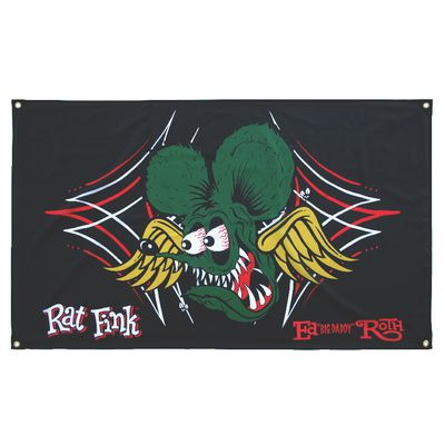 RAT FINK WINGS BANNER | Matco Tools