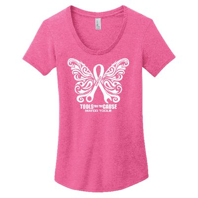 LADIES TOOLS FOR THE CAUSE T-SHIRT - S | Matco Tools