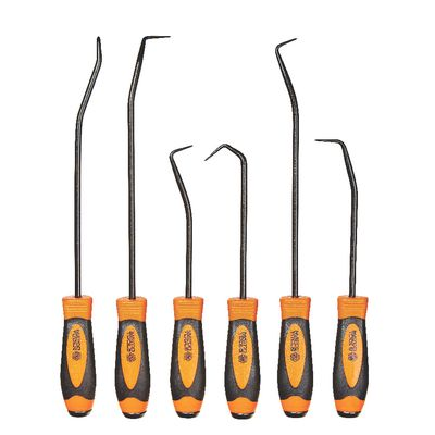 6 PIECE HOOK AND PICK SET, ORANGE | Matco Tools
