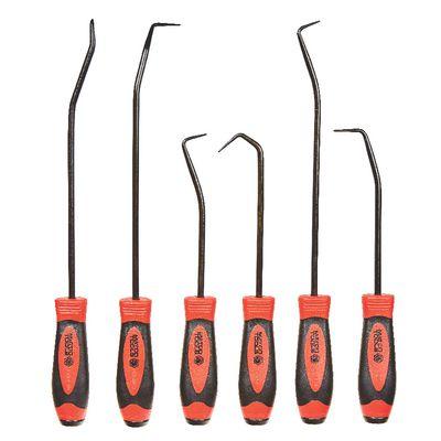 6 PIECE HOOK AND PICK SET - RED | Matco Tools