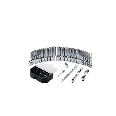 "1/4"" DRIVE 52 PIECE SILVER EAGLE® CHROME MASTER SET 