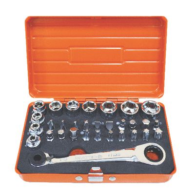 31 PIECE LOW PROFILE TOOL KIT - ORANGE | Matco Tools