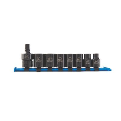 "8 PIECE 3/8"" DRIVE IMPACT SOCKET SET 