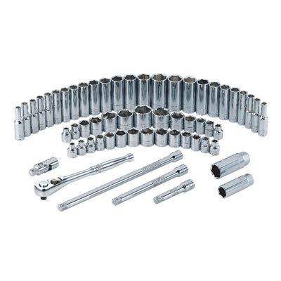 "3/8"" DRIVE 59 PIECE SILVER EAGLE SET 
