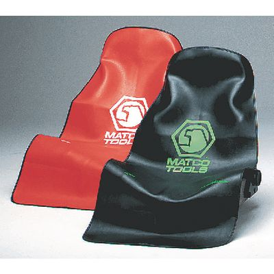 SEAT COVER - BLACK WITH GREEN LOGO | Matco Tools