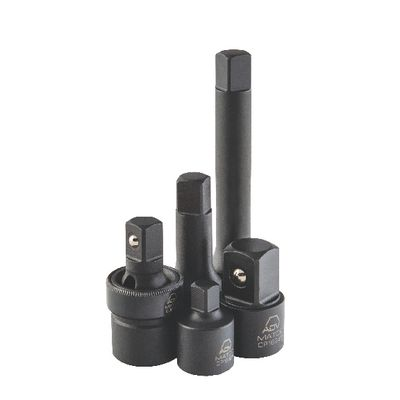 "5 PIECE 1/2"" DRIVE ADAPTER, UNIVERSAL JOINT AND EXTENSION IMPACT SET 
